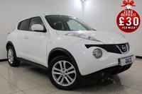 USED 2011 60 NISSAN JUKE 1.6 ACENTA PREMIUM 5DR 117 BHP SERVICE HISTORY + BLUETOOTH + CRUISE CONTROL + CLIMATE CONTROL + MULTI FUNCTION WHEEL + RADIO/CD/MP3 + ELECTRIC WINDOWS + 17 INCH ALLOY WHEELS