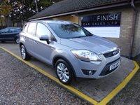 2011 FORD KUGA 2.0 TITANIUM TDCI AWD 5d 163 BHP £7995.00
