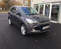 USED 2015 65 FORD KUGA 1.5 TITANIUM X ECOBOOST AUTOMATIC 180 BHP THIS VEHICLE IS AT SITE 2 - TO VIEW CALL US ON 01903 323333