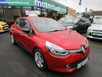 USED 2013 63 RENAULT CLIO 0.9 DYNAMIQUE MEDIANAV ENERGY TCE S/S 5d 90 BHP CALL 01543 379066... 12 MONTHS MOT... 6 MONTHS WARRANTY.... 5 DOOR.. SAT NAV... JUST ARRIVED... TEST DRIVE TODAY