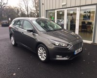USED 2015 65 FORD FOCUS 1.6 TITANIUM AUTOMATIC 125 BHP THIS VEHICLE IS AT SITE 1 - TO VIEW CALL US ON 01903 892224