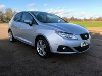 2011 SEAT IBIZA 1.4 SE COPA 5d 85 BHP £5695.00