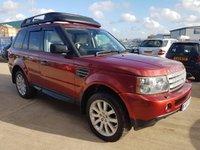 2005 LAND ROVER RANGE ROVER SPORT 4.2 V8 S/C 5d AUTO 385 BHP £8995.00