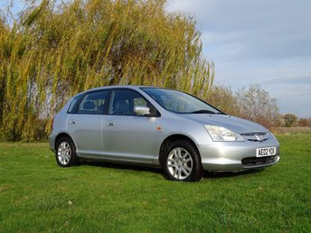 2002 HONDA CIVIC 1.6 SE EXECUTIVE 5d 109 BHP £1495.00