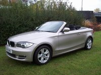 USED 2010 10 BMW 1 SERIES 2.0 118i SE 2dr Low Mileage, Convertible