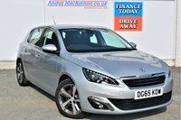 USED 2015 65 PEUGEOT 308 2.0 BLUE HDI ALLURE 5d Family Hatchback with Zero Road Tax and High 76mpg PREVIOUSLY LOCALLY OWNED