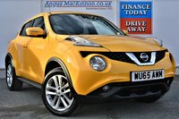 USED 2015 65 NISSAN JUKE 1.2 ACENTA PREMIUM DIG-T 5dr Petrol Family SUV in a Stunning Unique Colour **LOW MILEAGE FOR AGE**