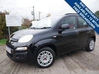 USED 2012 62 FIAT PANDA 1.2 MULTIJET EASY 5d 75 BHP LOW ROAD TAX AT ONLY £20 PER YEAR,  72 MILES PER GALLON