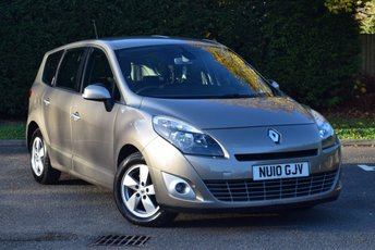 2010 RENAULT GRAND SCENIC 1.5 DYNAMIQUE TOMTOM DCI 5d 105 BHP £3990.00
