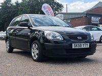 USED 2009 59 KIA RIO 1.4 16V 5d 96 BHP 1 OWNER FROM NEW *   AUX CONNECTION  *  SERVICE RECORD *