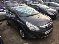 USED 2011 11 VAUXHALL CORSA 1.2 EXCITE AC 3d 83 BHP *** ONLY 43,000 MILES! ***