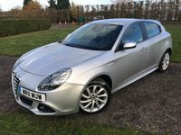 USED 2011 11 ALFA ROMEO GIULIETTA 1.6 JTDM-2 VELOCE 5d 105 BHP Full History MINT EXAMPLE! Full Service History, MOT 11/19, Recently Serviced, Mint Unmarked Example, Bluetooth Handsfree, Leather Upholstery, Unmarked Alloys, Dynamic-Eco-Normal Driving Modes, X4 Elec Windows, Elec Mirrors, Alloys, Climate Aircon, Excellent Fuel Economy, Cheap To tax And Insure, Full Carpet Mat Set, X2 Keys, Very Very Straight + Clean and Tody Example, You Will Not Be Dissapointed!