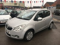 USED 2013 13 VAUXHALL AGILA 1.0 S ECOFLEX 5d 67 BHP *** ONLY 43,000 MILES *** £20 ROAD TAX ***