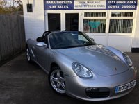 USED 2008 08 PORSCHE BOXSTER 2.7 24V 2d 242 BHP 28K FSH 18' ALLOYS 5SPD LEATHER CRUISE ELEC HEATED SEATS EXC CONDITION