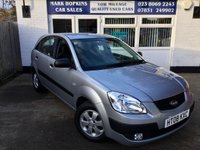 USED 2008 08 KIA RIO 1.4 2 5d 96 BHP 47K 1LOCAL FAMILY OWNER AIR/CON REAR PARKING SENS  £140/YR TAX EXC CONDITION