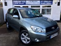 USED 2008 58 TOYOTA RAV4 2.0 XT4 VVT-I 5d AUTO 151 BHP 33K 1FAMILY OWNER LEATHER PARKING SENS SUNROOF AIR/CON EXC CONDITION