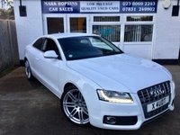USED 2008 X AUDI A5 2.7 TDI SPORT 3d AUTO 187 BHP 48K 1FAMILY OWNER HIGH SPEC MODEL LEATHER PARKING SENSORS EXC CONDITION