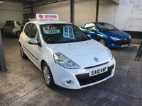 USED 2010 10 RENAULT CLIO 1.1 I-MUSIC 16V 3d 74 BHP *** ONLY 66,000 MILES! ***
