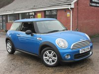 2011 MINI HATCH ONE 1.6 ONE PIMLICO (PEPPER) 3dr £4990.00