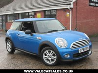 USED 2011 61 MINI HATCH ONE 1.6 ONE PIMLICO (PEPPER) 3dr GREAT COLOUR LIMITED EDITION / BLUETOOTH