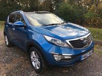 2012 KIA SPORTAGE 1.7 CRDI 2 5d 114 BHP £9275.00