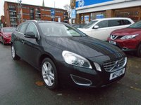 USED 2013 13 VOLVO V60 2.0 D3 SE LUX 5d AUTO 134 BHP LOW FINANCE RATES AVAILABLE