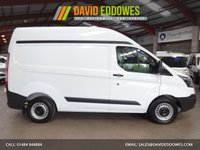"""USED 2014 14 FORD TRANSIT CUSTOM 2.2 270  ECO-TECH  P/V L1H2  HIGH ROOF VAN - LOW MILEAGE-ONE OWNER-SERVICE HISTORY  """"YOU'RE IN SAFE HANDS"""" - AA DEALER PROMISE"""