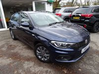 USED 2016 66 FIAT TIPO 1.4 EASY PLUS 5d 94 BHP Very Low Mileage - ONLY 10,000 miles covered since new! One Owner from new, Full Service History (Fiat + ourselves), MOT until September 2019, Balance of Fiat Warranty until September 2019, Low Insurance Group!