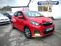 USED 2015 65 PEUGEOT 108 1.0 ACTIVE 5d 68 BHP Low Miles, Free Tax, Dab Radio, Bluetooth & More!
