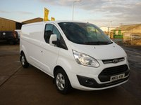 2016 FORD TRANSIT CUSTOM 2.0 290 LIMITED L2H1  130 BHP £15995.00
