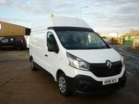 2016 RENAULT TRAFIC 1.6 LH29 BUSINESS ENERGY DCI L2H2 HIGH ROOF PANEL VAN  120 BHP £11995.00