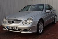 USED 2008 08 MERCEDES-BENZ C CLASS 1.8 C180 KOMPRESSOR SE SPORTS 3d 141 BHP FULL SERVICE HISTORY