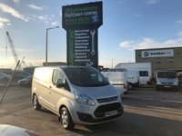 2016 FORD TRANSIT CUSTOM 2.2 270 LIMITED LR P/V 1d 124 BHP £13495.00