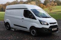 2015 FORD TRANSIT CUSTOM 2.2 290 LR P/V 1d 99 BHP £9000.00