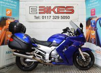 USED 2002 52 YAMAHA FJR1300 TOURER 1300CC FULL LUGGAGE AND BAR RISERS