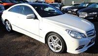 2010 MERCEDES-BENZ E CLASS 3.0 E350 CDI BLUEEFFICIENCY SPORT 2d AUTO 231 BHP £10815.00
