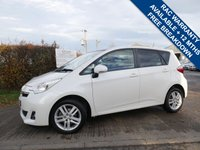 USED 2011 11 TOYOTA VERSO-S 1.3 VVT-I T SPIRIT 5d 98 BHP FULL HISTORY,  PETROL, 5 DOOR HATCHBACK IN EXCELLENT CONDITION