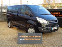 2014 FORD TOURNEO CUSTOM 2.2 300 TREND TDCI 5d 100 BHP 8 SEATER £12490.00