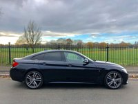 2015 BMW 4 SERIES 2.0 420D M SPORT GRAN COUPE 4d AUTO 181 BHP £16995.00