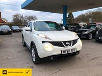 USED 2011 60 NISSAN JUKE 1.6 ACENTA 5d 117 BHP NEED FINANCE? WE STRIVE FOR 94% ACCEPTANCE!