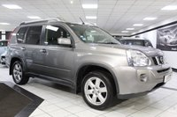 USED 2007 57 NISSAN X-TRAIL 2.0 DCI SPORT EXPEDITION EXTREME 150 BHP SAT NAV PAN ROOF CAM HISTORY!