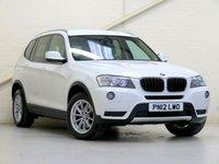 2012 BMW X3 2.0 XDRIVE20D SE 5d 181 BHP £11203.00