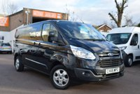 2015 FORD TRANSIT CUSTOM 2.2 290 LIMITED LR DCB 1d 124 BHP £15999.00