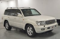 USED 2000 X TOYOTA LAND CRUISER AMAZON 4.2 TD 7 SEATS **STUNNING IN PEARL WHITE** LOW KILOMETERS + STUNNING PEARL WHITE BODY WITH PRIVACY GLASS