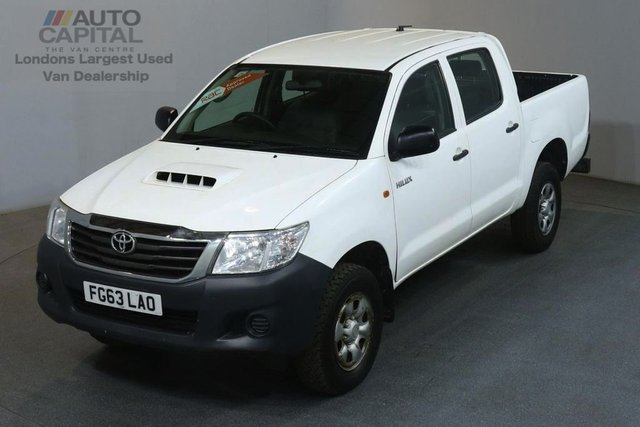 2013 63 TOYOTA HI-LUX 2.5 HL2 4X4 D-4D DCB 142 BHP AIR CON LIGHT UTILITY PICK UP £8,990+VAT AIR CONDITIONING