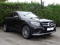 USED 2016 MERCEDES-BENZ GLC-CLASS 2.1 GLC 250 D 4MATIC AMG LINE PREMIUM PLUS 5d AUTO 201 BHP Premium Plus Pack + Keyless Entry + Reverse Camera + Sat Nav + Parking Sensors + Full Black Leather + Privacy Glass + MSBSH + Only 1 Owner + Much More