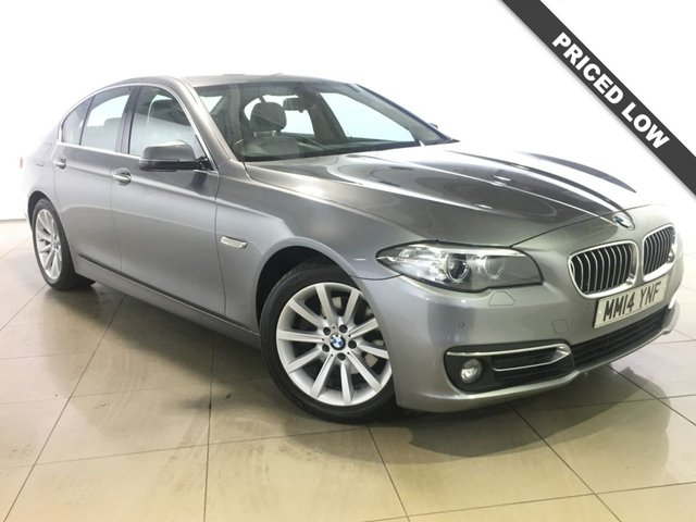 View our 2014 14 BMW 5 SERIES 2.0 520D LUXURY 4d AUTO 181 BHP