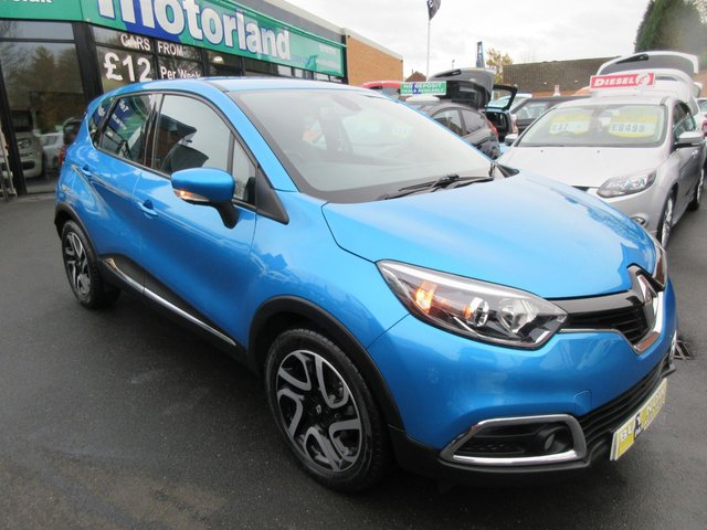 USED 2013 63 RENAULT CAPTUR 1.5 DYNAMIQUE MEDIANAV ENERGY DCI S/S 5d 90 BHP BUY NOW PAY NEXT YEAR...NO DEPOSIT FINANCE DEALS