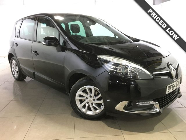 View our 2014 64 RENAULT SCENIC 1.5 DYNAMIQUE TOMTOM ENERGY DCI S/S 5d 110 BHP
