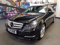 2011 MERCEDES-BENZ C CLASS 2.1 C220 CDI BLUEEFFICIENCY SPORT 4d AUTO 168 BHP